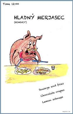 Hungry Merjasec