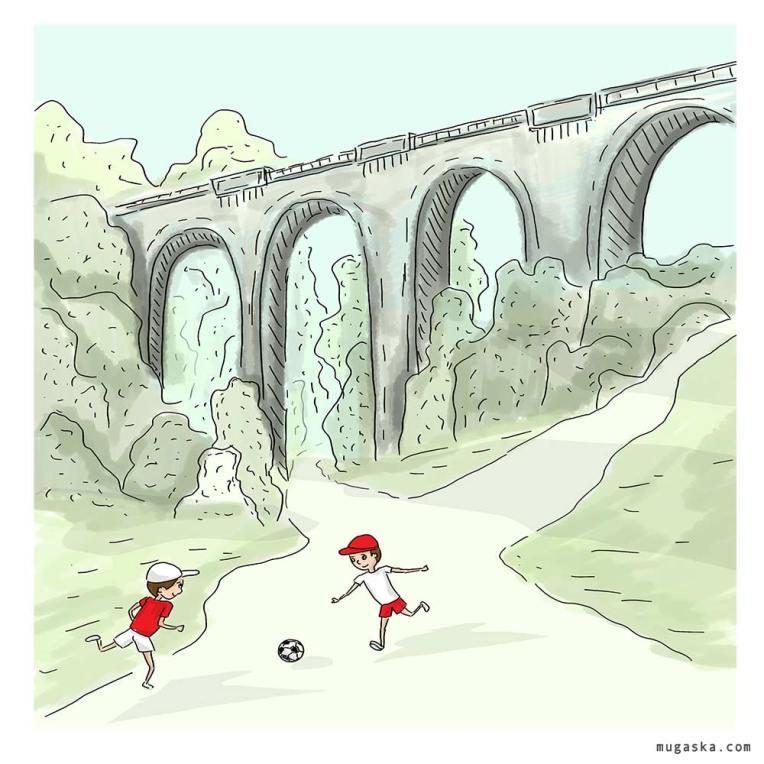 wiadukt w Stanczykach