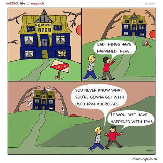 hauntedIPV4house