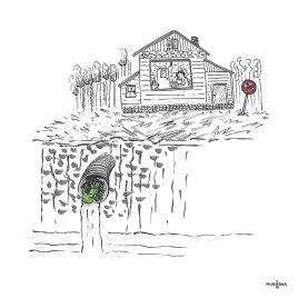inktober_me_drain